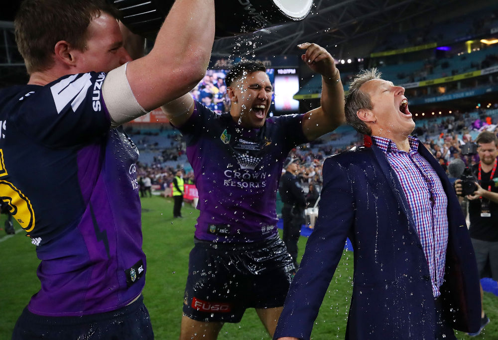 Craig Bellamy Melbourne Storm