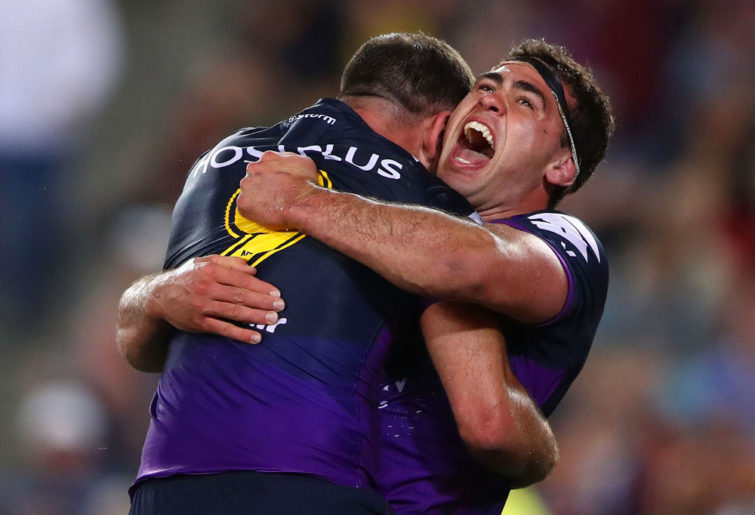 Dale Finucane Melbourne Storm NRL Rugby League Grand Final 2017