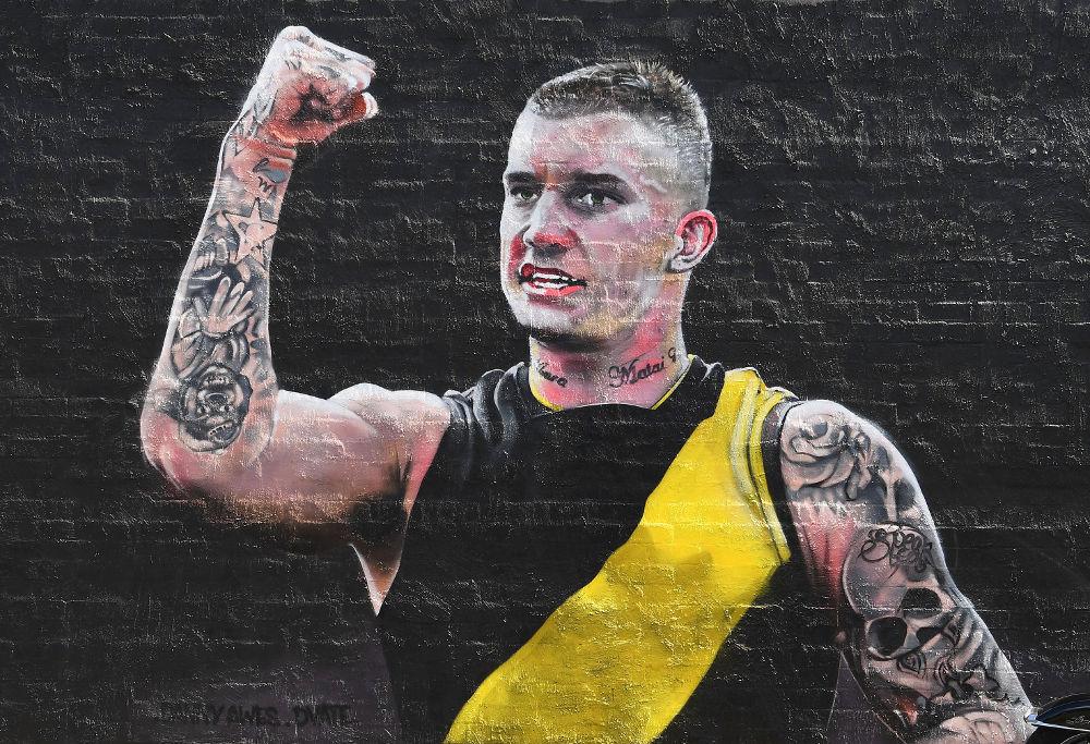 Dustin Martin mural