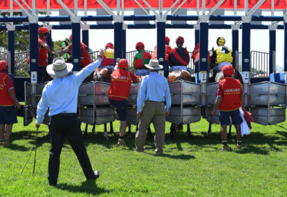 The Mounting Yard: Day 1 of The Championships