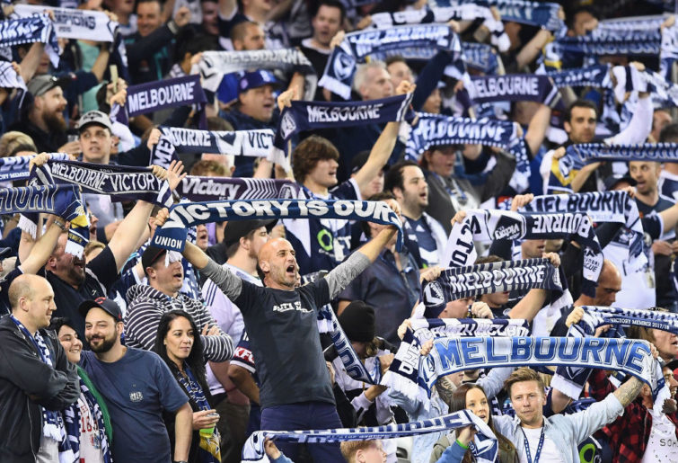 Melbourne Victory fans A-League