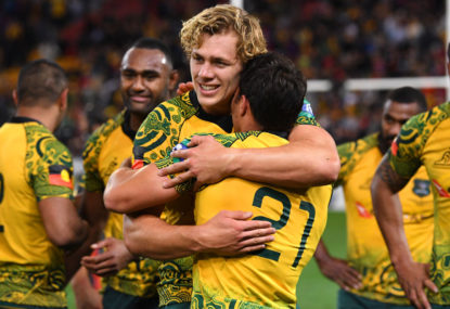 Ned Hanigan returns as Dave Rennie makes four changes to Wallabies team for Bledisloe 2
