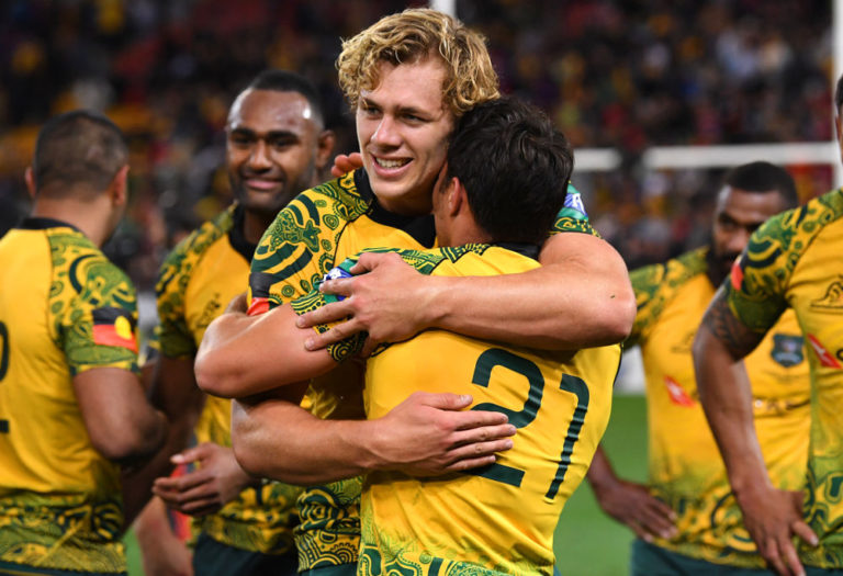 BREAKING: Dave Rennie makes four changes to Wallabies team for Bledisloe 2
