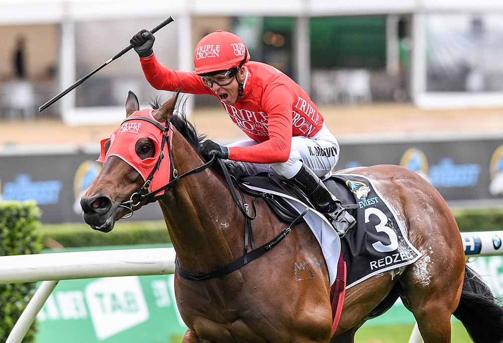 Redzel wins The Everest