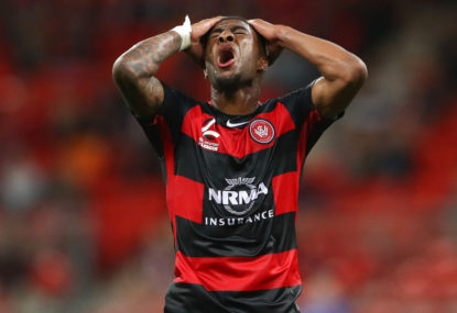 Wanderers midfielder Bonevacia accuses Adelaide fans of racist comments