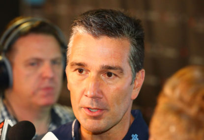 Stephen Silvagni needs to put those words into actions at Carlton