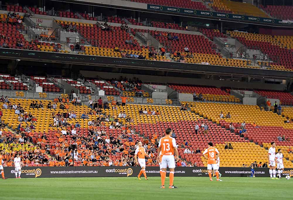 A-League crowd empty seats
