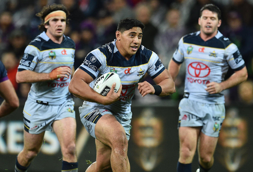 Jason Taumalolo runs the ball
