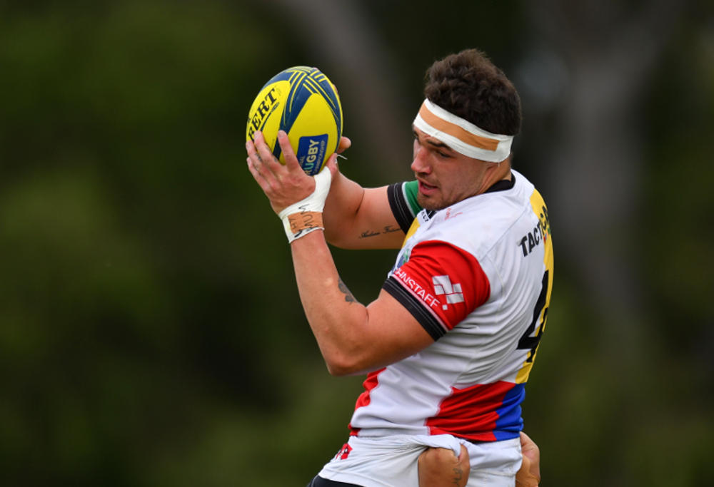 Connor Vest during the NRC Rd 8 match between Perth Spirit vs Sydney Rays