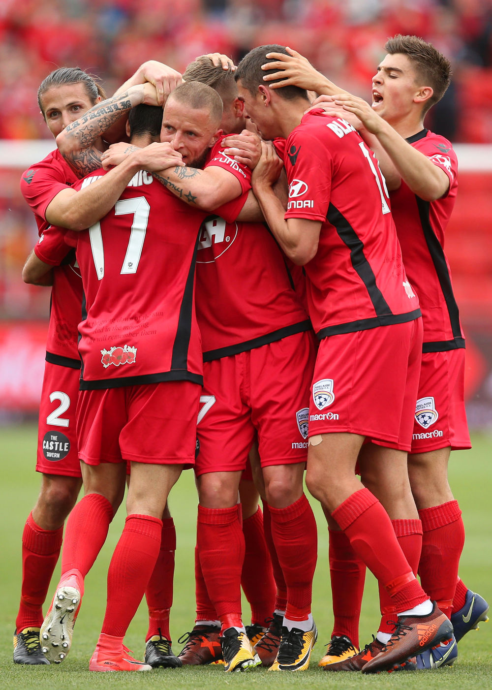Adelaide United tall