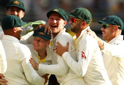 In the 'real' battle this summer, it's 1-0 to the Australian Test selectors