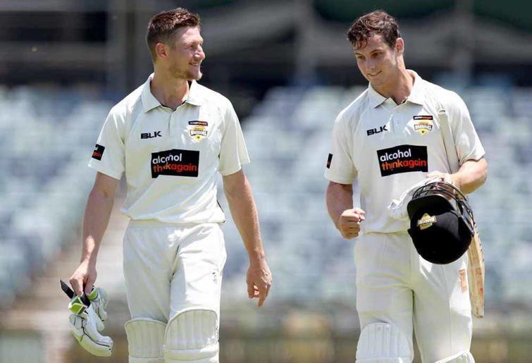 Cam Bancroft and Hilton Cartwright