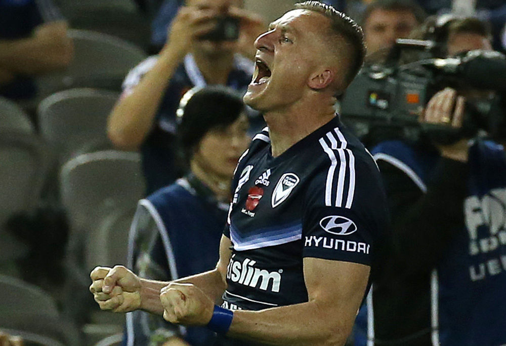 Besart Berisha of the Melbourne Victory
