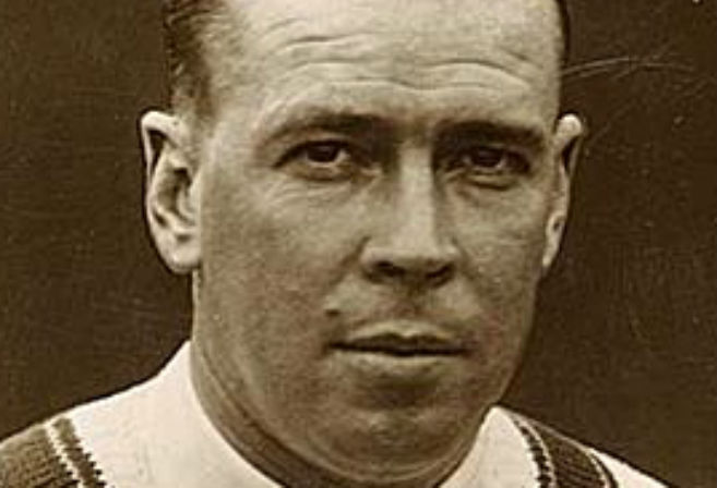 Bill Ponsford poses for a photo