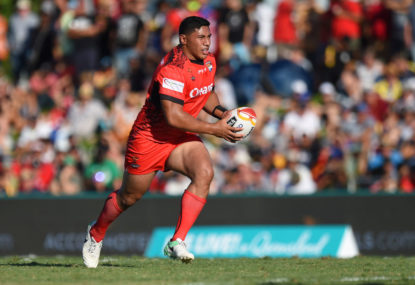 Taumalolo's Tonga top of the RLWC pool match highlights