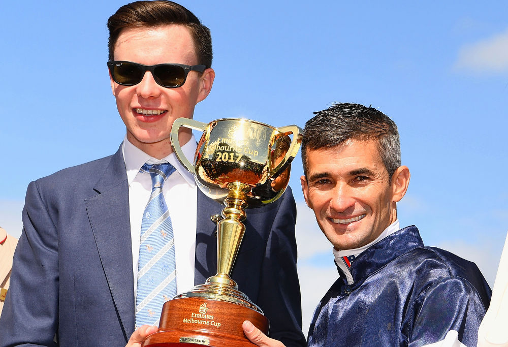 Joseph O'Brien Corey Brown Melbourne Cup