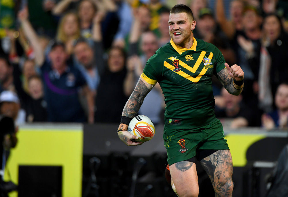 Josh Dugan Australia Rugby League World Cup 2017
