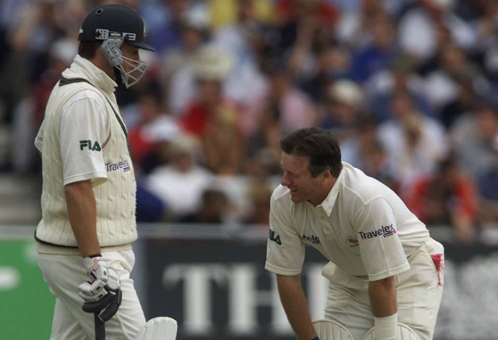 Mark and Steve Waugh