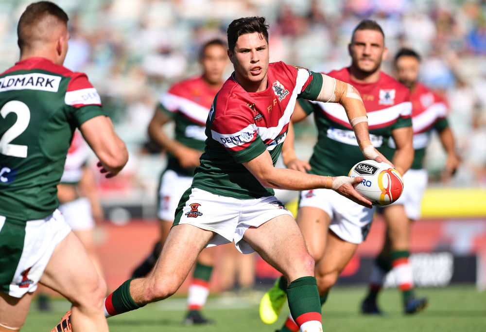 Mitchell Moses Lebanon Rugby League World Cup 2017