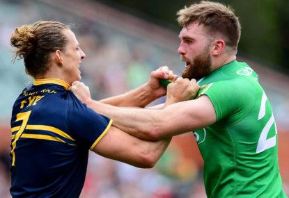 Australia vs Ireland: AFL International Rules first Test highlights, live scores, blog