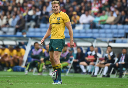 Wallabies blow: Hodge breaks ankle