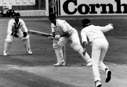Recalling when Lillee and Miandad got physical