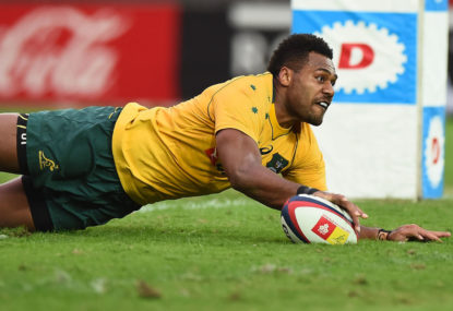 My Wallabies team to take on the Springboks