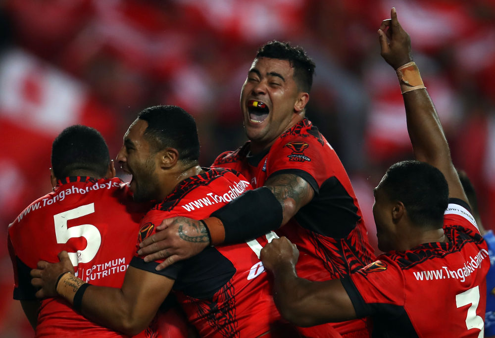 Tonga Rugby League World Cup 2017