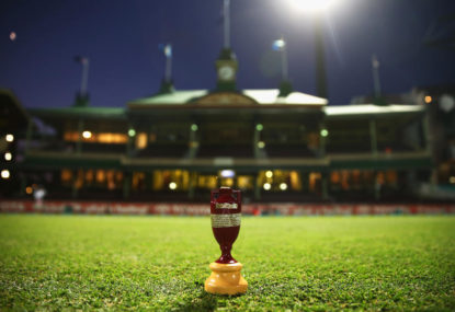 The Sydney Test by the numbers