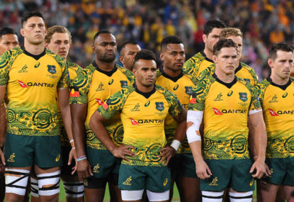 Just a jersey or a reason for Wallabies hope at Twickenham?