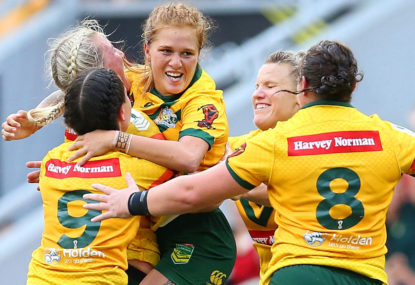 Jillaroos win the world cup! Australia defeat New Zealand 23-16