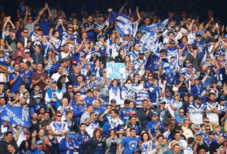 Canterbury Bulldogs fans