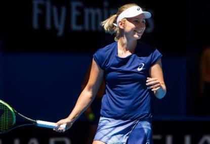 Daria Gavrilova vs Irina Falconi: Australian Open live scores, blog