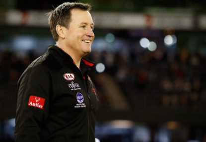 John Worsfold says Bombers' critics are embarrassing themselves