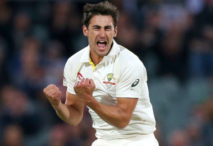 Is there more to Starc that just cleaning up the tailenders?