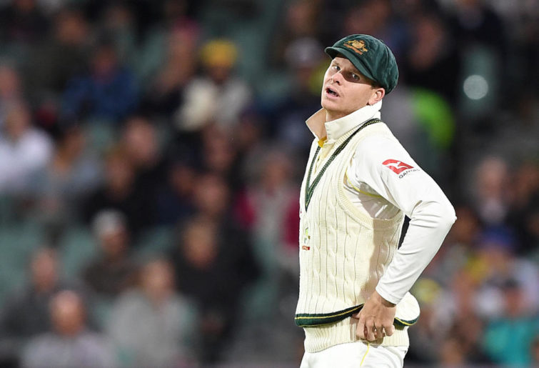 Steve Smith reacts sad Ashes 2nd Test.