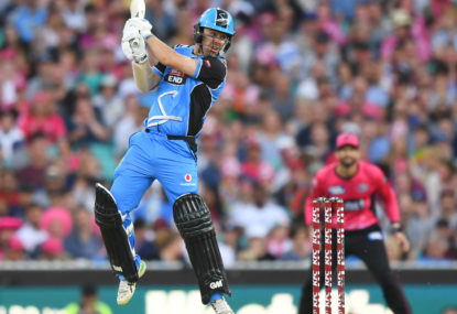Big Bash League live scores: Hobart Hurricanes vs Adelaide Strikers BBL07 blog
