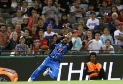 WATCH: Is this the greatest outfield catch you've ever seen?