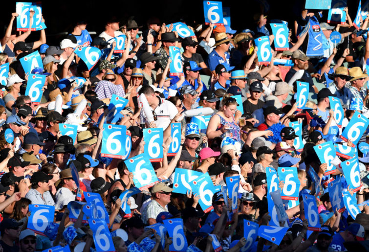 Adelaide Strikers fans