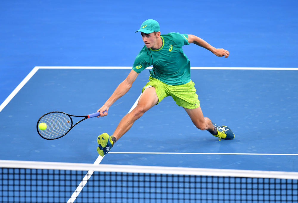 Alex De Minaur Brisbane Semi-final