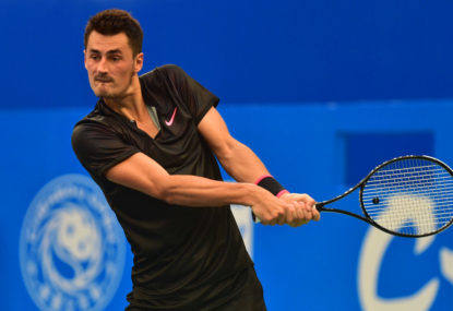 Bye bye Bernie: Tomic eliminated from Australian Open qualifying