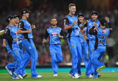 Five takes from Sydney Thunder vs Adelaide Strikers