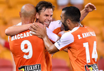 Brisbane Roar's best 11 so far