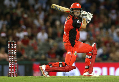 The road to the BBL finals: Melbourne Renegades
