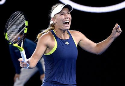 Ons Jabeur vs Caroline Wozniacki: Australian Open tennis live scores