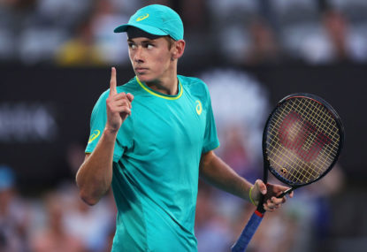 Dogged De Minaur a David among Goliaths
