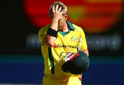 Warner to miss third ODI, in doubt for first Test