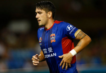 Newcastle Jets vs Perth Glory: A-League live scores, blog, highlights