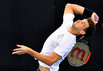 Grigor Dimitrov vs Kyle Edmund: Australian Open men's quarter-final live scores, blog