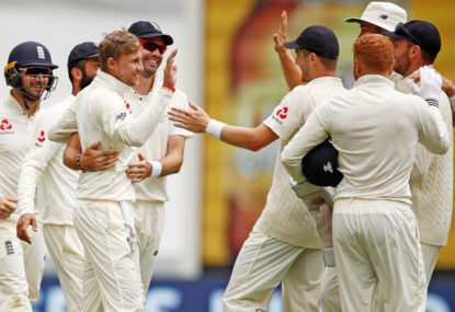 England bowlers take control of fifth Test